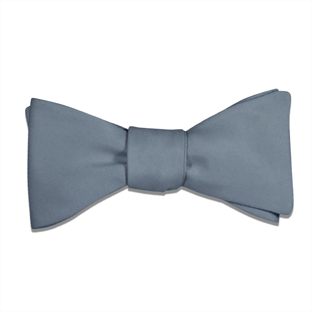 87390a80a2a Bow Tie in Azazie Dusty Blue - - - Knotty Tie Co.