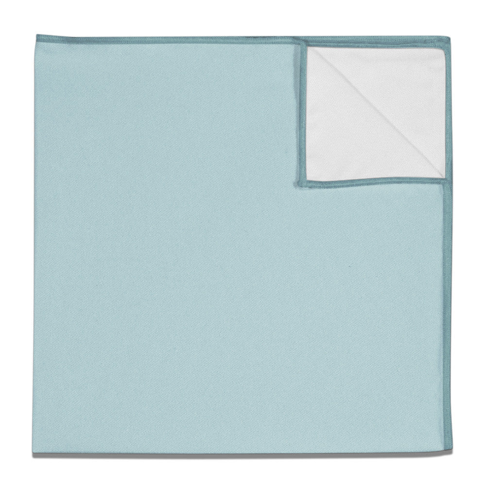 fab78d273ff Pocket Square in Azazie Mist - - - Knotty Tie Co.