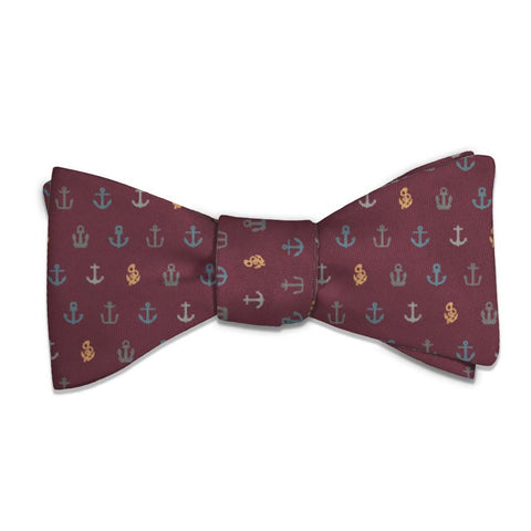 Anchors Away Bow Tie -  -  - Knotty Tie Co.