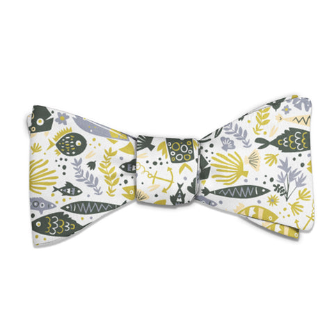 Below the Sea Bow Tie -  -  - Knotty Tie Co.