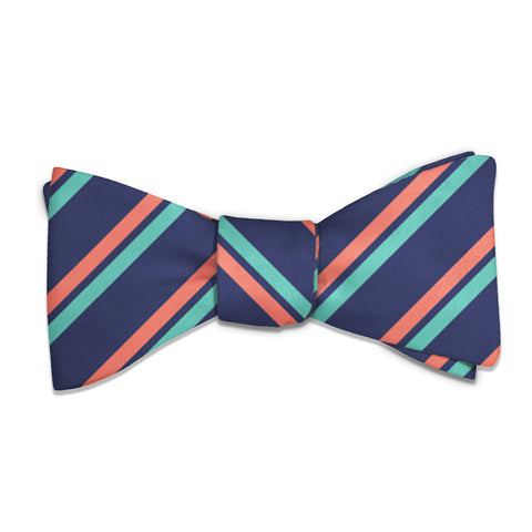 Brooklyn Stripe Bow Tie -  -  - Knotty Tie Co.