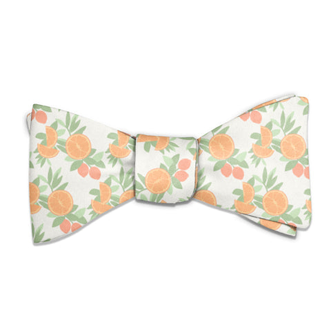 Citrus Blossom Floral Bow Tie -  -  - Knotty Tie Co.