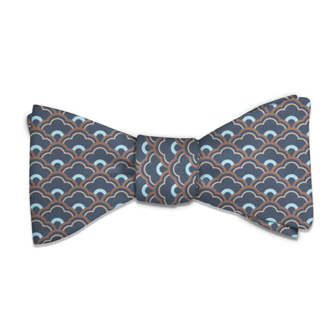 Clouds Geometric Bow Tie -  -  - Knotty Tie Co.