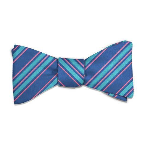 Colfax Stripe Bow Tie -  -  - Knotty Tie Co.