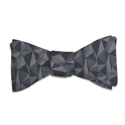 Crag Geometric Bow Tie -  -  - Knotty Tie Co.