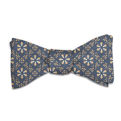 Deco Floral Bow Tie -  -  - Knotty Tie Co.