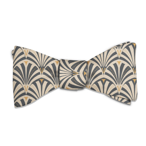 Fanfare Geometric Bow Tie -  -  - Knotty Tie Co.