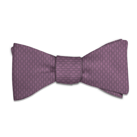 Faux Weave Bow Tie -  -  - Knotty Tie Co.