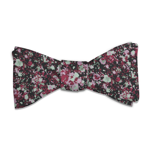 Hidden Floral Bow Tie -  -  - Knotty Tie Co.