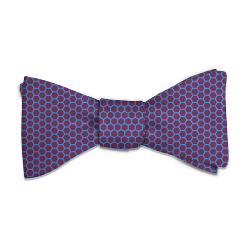 Hive Geometric Bow Tie -  -  - Knotty Tie Co.