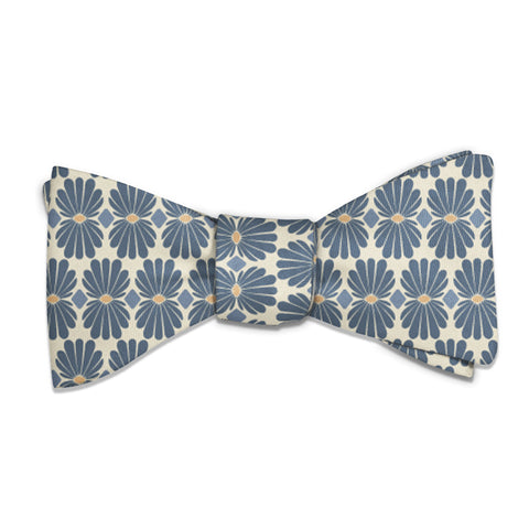 Nouveau Floral Bow Tie -  -  - Knotty Tie Co.