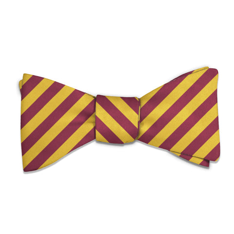 Rugby Stripe Bow Tie -  -  - Knotty Tie Co.