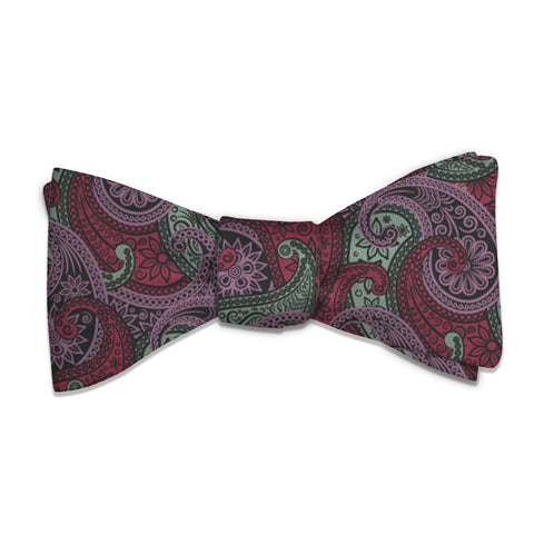 Sebastian Paisley Bow Tie -  -  - Knotty Tie Co.