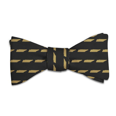 "Tennessee State Outline Bow Tie - Standard 14-18"" Neck Size -  - Knotty Tie Co."