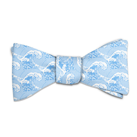 Waves Bow Tie -  -  - Knotty Tie Co.
