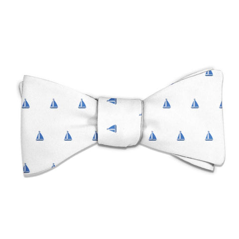 Sail Boats Bow Tie -  -  - Knotty Tie Co.