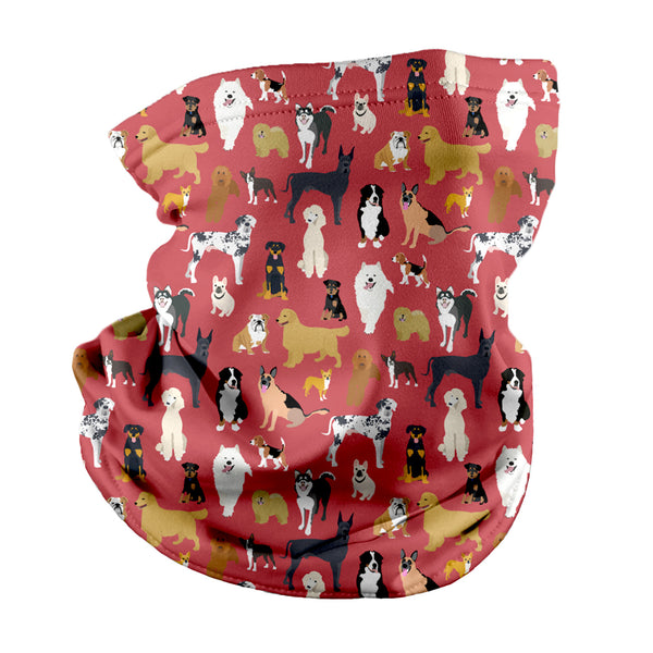 Puppy Party Neck Gaiter