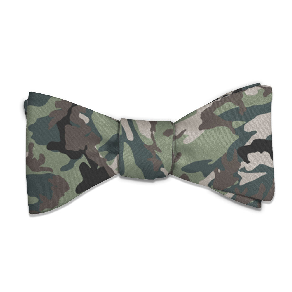 camo bow tie knotty tie co
