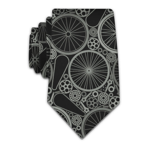 Bike Parts Necktie -  -  - Knotty Tie Co.