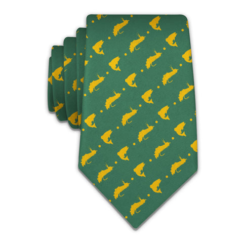 "Fly Fishing Necktie - Knotty 2.75"" -  - Knotty Tie Co."
