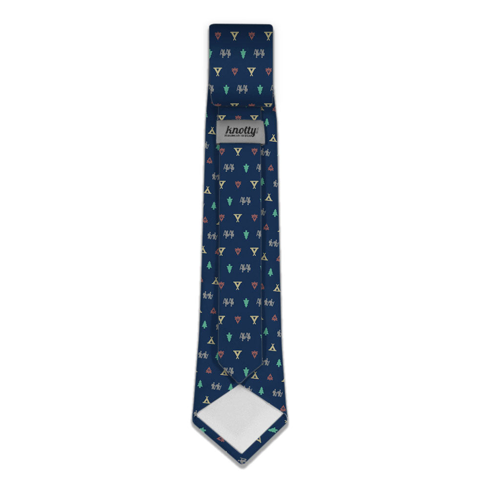 camping with friends necktie knotty tie co