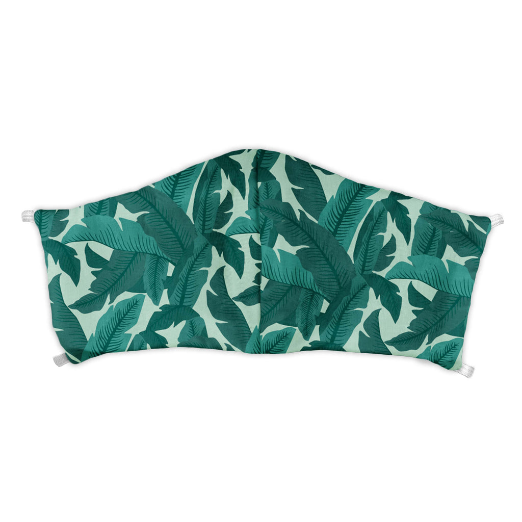 Banana Leaves Face Mask -  -  - Knotty Tie Co.
