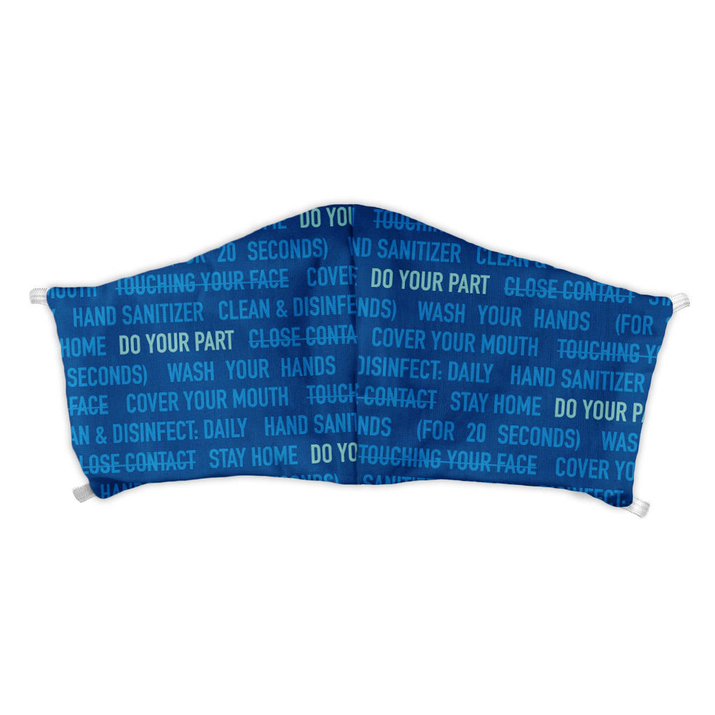 Do Your Part Face Mask -  -  - Knotty Tie Co.