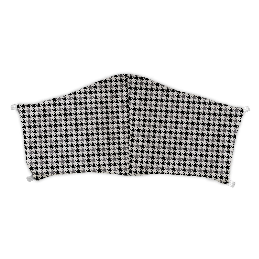 Houndstooth Face Mask -  -  - Knotty Tie Co.