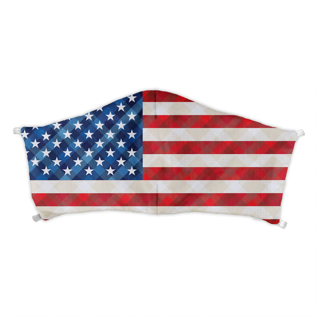 American Flag Face Mask -  -  - Knotty Tie Co.