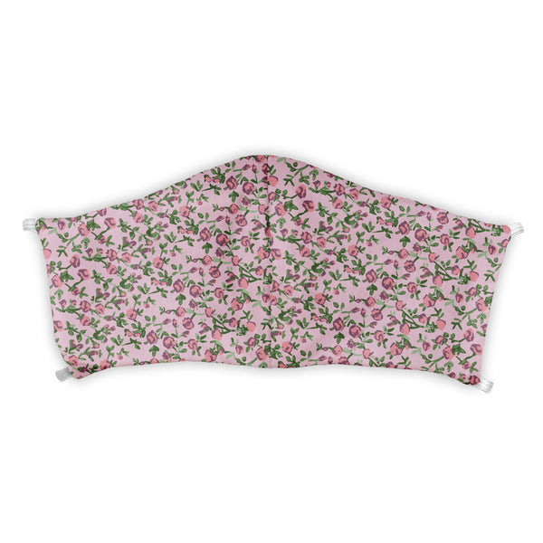 Edward Floral Customizable Face Mask -  -  - Knotty Tie Co.