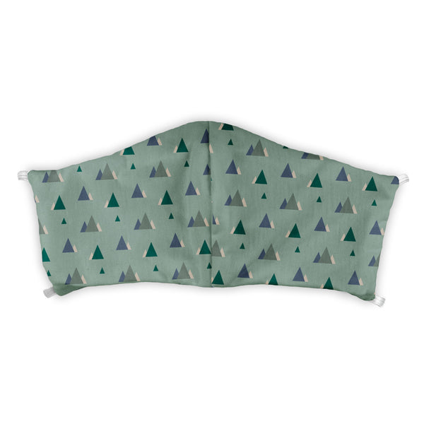 Mini Mountains Customizable Face Mask -  -  - Knotty Tie Co.
