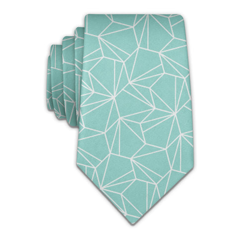 Bert Geometric Necktie -  -  - Knotty Tie Co.