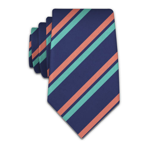 Brooklyn Stripe Necktie -  -  - Knotty Tie Co.