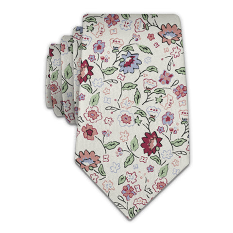 Cecile Floral Necktie -  -  - Knotty Tie Co.