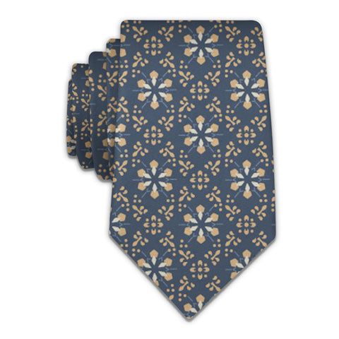 Deco Floral Necktie -  -  - Knotty Tie Co.