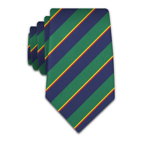 Federal Stripe Necktie -  -  - Knotty Tie Co.