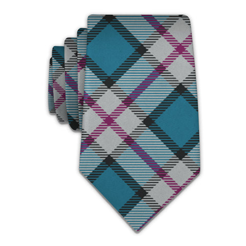 Harrison Plaid Necktie -  -  - Knotty Tie Co.