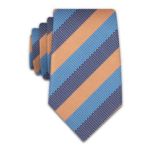 Kent Stripe Necktie -  -  - Knotty Tie Co.