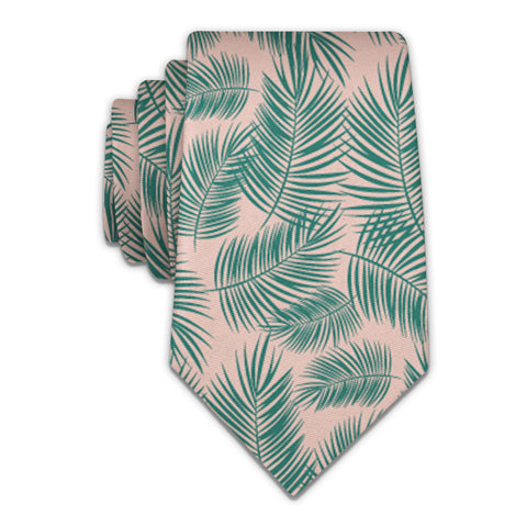 Palm Leaves Necktie -  -  - Knotty Tie Co.