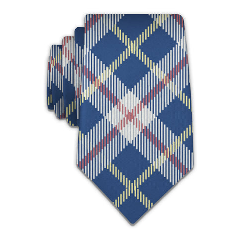 Shaun Plaid Necktie -  -  - Knotty Tie Co.