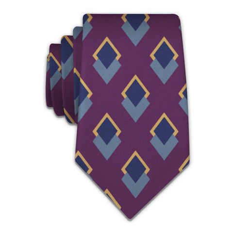 Simon Geometric Necktie -  -  - Knotty Tie Co.