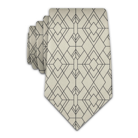 Vintage Deco Necktie -  -  - Knotty Tie Co.