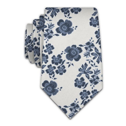 Zak Floral Necktie -  -  - Knotty Tie Co.
