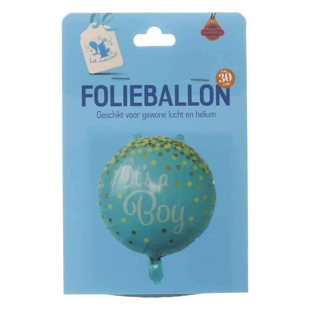 It's a boy folieballon