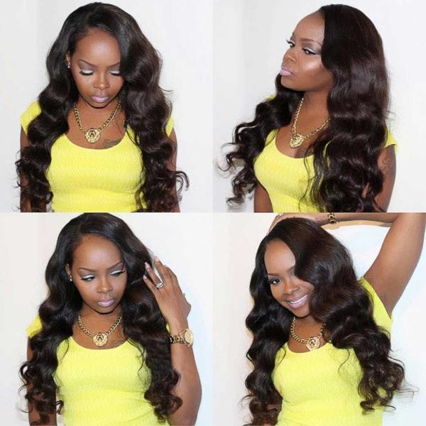 HD Lace Front Wigs Human Hair Wigs 13x4 Body Wave Wigs 10A Hair Pre Plucked With Baby Hair - Truelovewigs.com