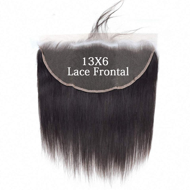 Swiss Lace Frontal 13x6 Lace Frontal Weave Straight Frontal 10A Best Lace Frontals 100% Human Hair - Truelovewigs.com
