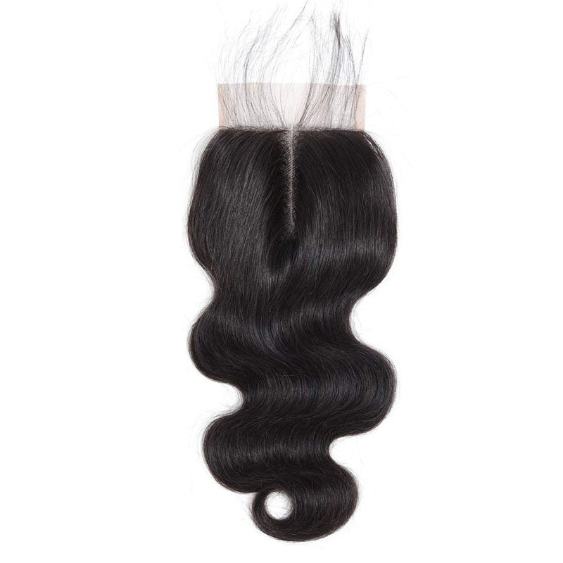 Swiss Lace Closure Body Wave Closure 10A 100% Human Hair Closure Middle Part Closure with Baby Hair - Truelovewigs.com