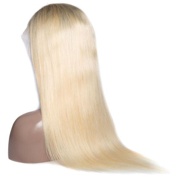 Straight 613 Blonde Wig 13x4 Lace Front Wigs T1B/613 Human Hair Wigs for Black Women With Baby Hair - Truelovewigs.com