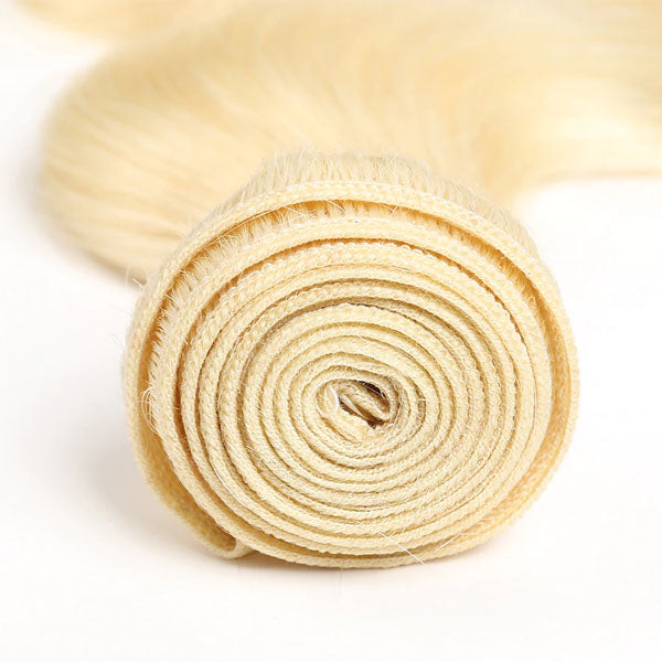 3 Bundles of Hair Body Wave Bundles Cheap T1B/613 Bundles 100% Human Hair Blonde Weave Brazilian Hair Bundles - Truelovewigs.com