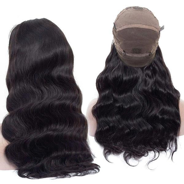 Best Full Lace Wigs Pre Plucked With Baby Hair 100% Human Remy Hair Body Wave Wig - Truelovewigs.com